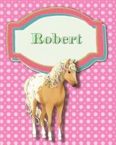 Handwriting and Illustration Story Paper 120 Pages Robert