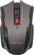 Fantech W4 Phantom Draadloze Gaming Muis | Optische 6D Game Muis | Verstelbare DPI (2000) | Cadeau voor man & vrouw | Zwart