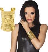 Goudkleurige Egyptische Armband