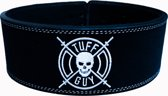 Black Lifting Belt, Large met Fast Clip systeem en 12mm dikte.