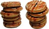 Spaarpot wafels 12cm