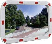 vidaXL Verkeersspiegel met reflectoren rechthoek 40x60 cm