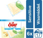 Le Chat Sensitive Duo-Caps - Kwartaalverpakking - 102 wasbeurten - wasmiddel