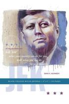JFK Blank College Ruled Journal 6x9