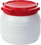 Waterkluis - 10,4 Liter - Water- En Luchtdicht - Wit/rood