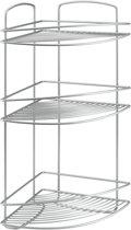 Tomado Metaltex - Onda Badkamerrek Hoek - Polytherm - 3 Verdiepingen - 22x22x53 cm