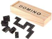 Domino Reisspel - Dominospel Mini Domino Stenen Set - Kinderen/Volwassenen Houten Box