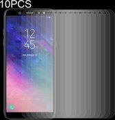 Let op type!! 10 stuks 0 26 mm 9H 2.5D getemperd glas Film voor Galaxy A6 + (2018)