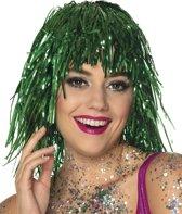 Dressing Up & Costumes | Wigs - St. Pruik Metallic Groen