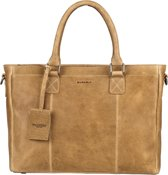 BURKELY Antique Avery Workbag 13,3 - Schoudertas - Taupe