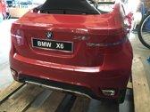 BMW X6 Elektrische accuvoertuig / 12 VOLT / kinderauto met Mp3 + Afstandsbediening, Led-verlichting,  BORDEAU