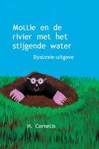 Mollie en de rivier met het stijgende water