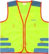 WOWOW Design Fluo hesje kind - Nuty jacket yellow M
