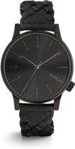 Komono Black Winston horloge  - Zwart
