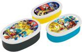 Dragon Ball Super Bento Box Snack box lunchbox 3p Set ( Made in Japan )