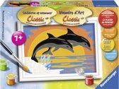 Ravensburger schilderen op nummer dolfijnenromantiek