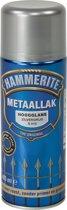 Hammerite Hoogglans Zilvergrijs S015 400ML