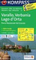Kompass WK97 Varallo, Verbania, Lago d'Orta