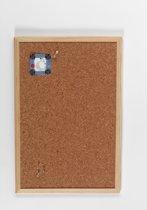 NAGA  Prikbord kurk 60x100cm houten lijst