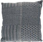 Home & Styling kussen katoen grijs