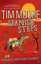 Boek cover Spanish Steps van Tim Moore