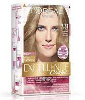 L'Oréal Paris Excellence 7.31 Goud Asblond 3stuks - Haarverf