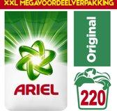 XXL megavoordeelverpakking | Ariel Original Waspoeder 220 wasbeurten | voordeelverpakking |
