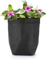 Kraft Plantenzak Pot – Groeizak – Bloempot – Plantenhouder – Plant Bag – 10 liter - Zwart