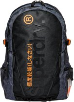 Superdry Tarp Backpack Double Marl Dark Grey