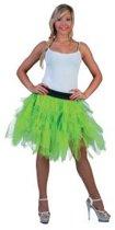 Pettycoat fluo groen | vrouw | one size