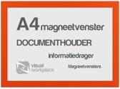 Magneetvensters A4 - Oranje