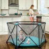 Opvouwbare baby box - Vaste matras bodem - Kinder box