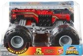 Hot Wheels monster jam truck 5 alarm Fire Dept.  - schaal 1:24