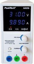 Peaktech 6226: Schakelmodus laboratorium Voeding DC 0 - 30 V / 0 - 10 A