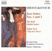 Shostakovich: Jazz Suites nos 1 & 2 etc / Yablonsky, Russian State SO