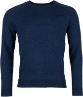 Superdry Orange Label Cotton Crew  Sporttrui - Maat L  - Mannen - navy
