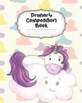 Unicorn Primary Composition Book: Beautiful Unicorn Primary Composition Notebook Story Paper Journal Dotted Midline and Picture Space for Grades K-2 L
