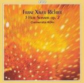 Richter: 3 Flute Sonatas / Camerata Koln