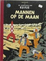 Kuifje facsimile kleur Mannen op de maan