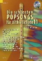 Die schönsten Popsongs für Alt-Blockflöte, 12 Pop-Hits. Band 11.