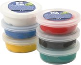 Silk Clay - Set met 6 basis kleuren