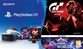 Sony PlayStation VR + PlayStation Camera + VR Worlds + GT Sport - PS4