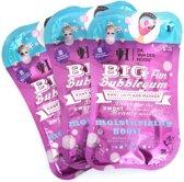 Dr. van der Hoog Big Fun Bubblegum Masker (3 sets van 2 maskers)