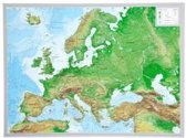 Reliefkarte Europa klein 1 : 16 000 000