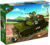 BanBao Defence Force Tank - 8246