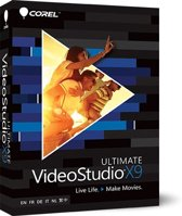 Corel VideoStudio X9 Ultimate - Nederlands / Frans / Engels