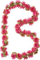 Basil Flower Garland - Bloemenstreng - Fuchia