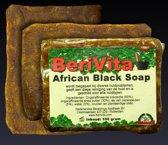 African Black Soap - Zwarte Zeep 3x100gr