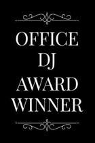 Office DJ Award Winner