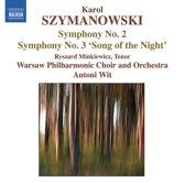 Szymanowski: Symphonies 2+3